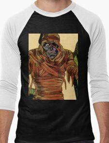 The Mummy Attacks Men's Baseball ¾ T-Shirt