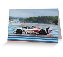 Peugeot 905 - Paul Ricard Circuit France Greeting Card
