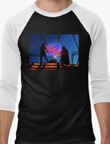 Luke vs Vader on Bespin Men's Baseball ¾ T-Shirt