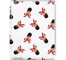 RED RIBBON GIRL iPad Case/Skin