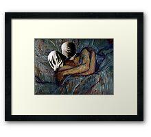 Le Baiser - Lautrec x Magritte Framed Print