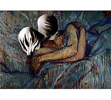 Le Baiser - Lautrec x Magritte Photographic Print