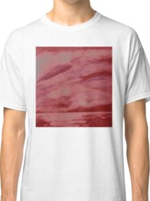 After the storm (red version) Classic T-Shirt