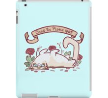 Demodivational Ragdoll iPad Case/Skin