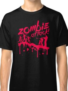 Zombie Attack Blood Classic T-Shirt