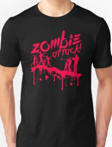 Zombie Attack Blood Unisex T-Shirt