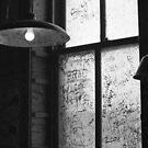 Ground Zero Blues Club window by AnalogSoulPhoto