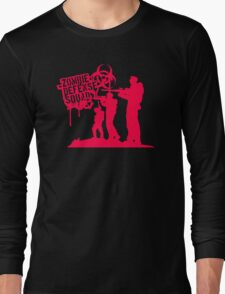 Zombie Defense Long Sleeve T-Shirt