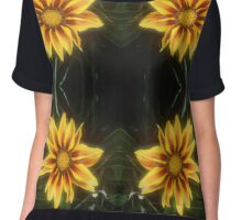Lazy Daisy Days  Chiffon Top