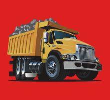 Cartoon Dump Truck One Piece - Short Sleeve