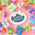Happy Holidays by Barbara Neveu