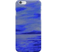 After the storm  (blue version) iPhone Case/Skin
