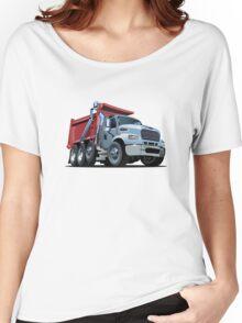 Cartoon Dump Truck Women's Relaxed Fit T-Shirt