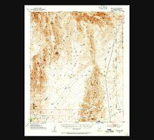 USGS TOPO Map Arizona AZ Red Hill 314953 1954 62500 Unisex T-Shirt