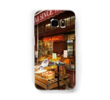 City - Boston Ma - Fresh meats and Fruit Samsung Galaxy Case/Skin