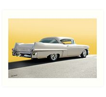 1957 Cadillac Custom Coupe DeVille Art Print