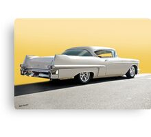 1957 Cadillac Custom Coupe DeVille Canvas Print