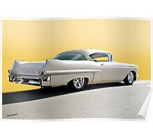 1957 Cadillac Custom Coupe DeVille Poster