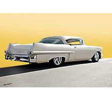 1957 Cadillac Custom Coupe DeVille Photographic Print