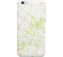 USGS TOPO Map Arizona AZ Ninetysix Hills NE 312634 1966 24000 iPhone Case/Skin