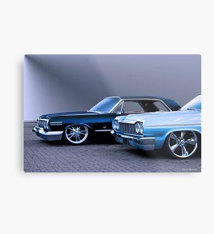 1964 Chevrolet Custom Impala Metal Print