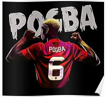 pogba is number six Poster