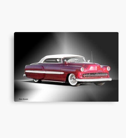 1953 Chevrolet Custom Convertible Metal Print