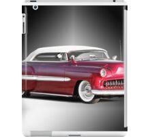 1953 Chevrolet Custom Convertible iPad Case/Skin