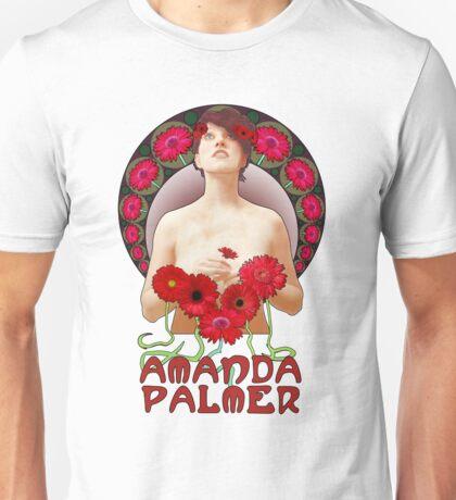 Amanda Palmer - Alphonse Mucha Unisex T-Shirt