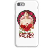 Amanda Palmer - Alphonse Mucha iPhone Case/Skin