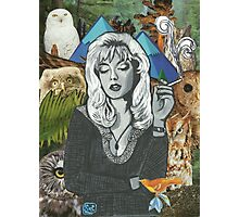 Twin Peaks Laura Palmer Owls Collage Photographic Print