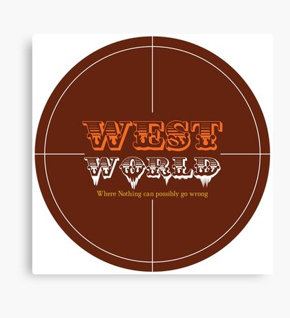 WestWorld Tv Show Canvas Print
