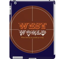WestWorld Tv Show iPad Case/Skin