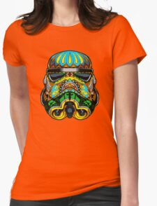 Festive Stormtrooper Womens Fitted T-Shirt