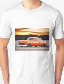 1954 Chevrolet 'Post' Custom Coupe Unisex T-Shirt