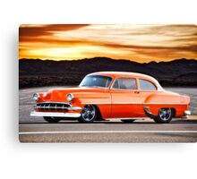 1954 Chevrolet 'Post' Custom Coupe Canvas Print