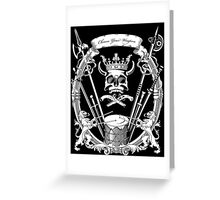 Choose your weapon. Greeting Card