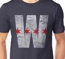 W Chicago Baseball Winning Flag Unisex T-Shirt