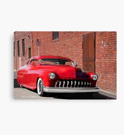 1951 Mercury 'No Parking' Custom Coupe Canvas Print