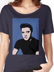 Rock God Elvis Women's Relaxed Fit T-Shirt
