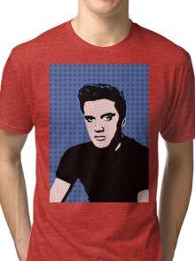 Rock God Elvis Tri-blend T-Shirt