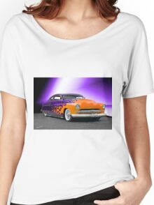 1950 Mercury 'Hot Wheels' Custom Coupe Women's Relaxed Fit T-Shirt