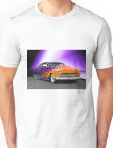 1950 Mercury 'Hot Wheels' Custom Coupe Unisex T-Shirt
