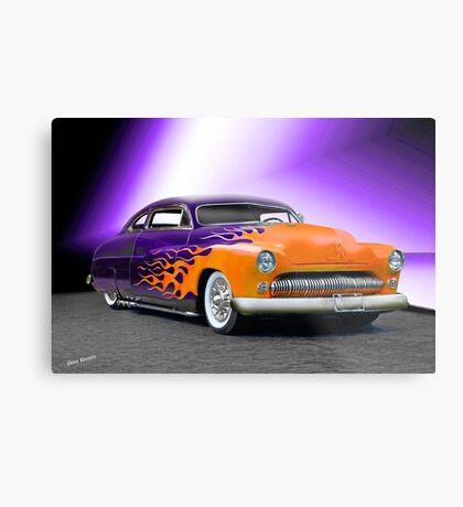 1950 Mercury 'Hot Wheels' Custom Coupe Metal Print