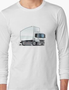 Cartoon delivery / cargo truck Long Sleeve T-Shirt
