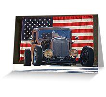 1936 Chevrolet 'Patriot' Pickup Greeting Card