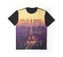 Tour Eiffel Paris  Graphic T-Shirt