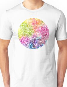 Swirly Portrait T-Shirt