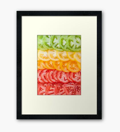 You say tomato Framed Print