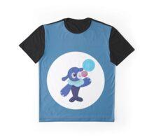 Poplin Pokemon Design Graphic T-Shirt